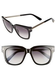 Tom Ford 'Tracy' 53mm Retro Sunglasses