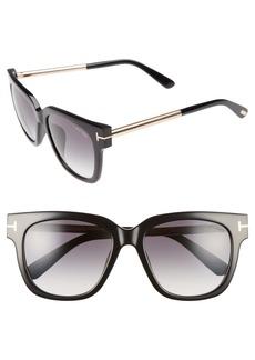 Tom Ford Tracy 54mm Retro Sunglasses