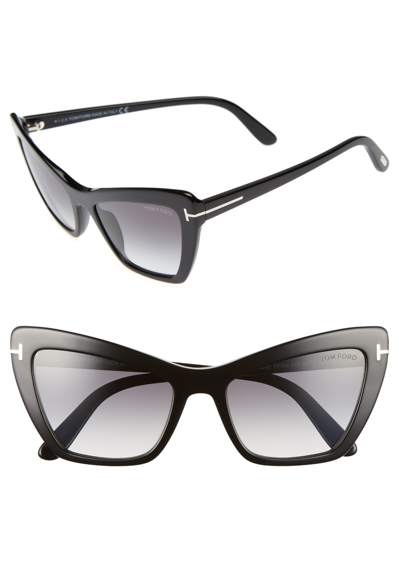 ffaa44a220e Tom Ford Tom Ford Valesca 55mm Cat Eye Sunglasses