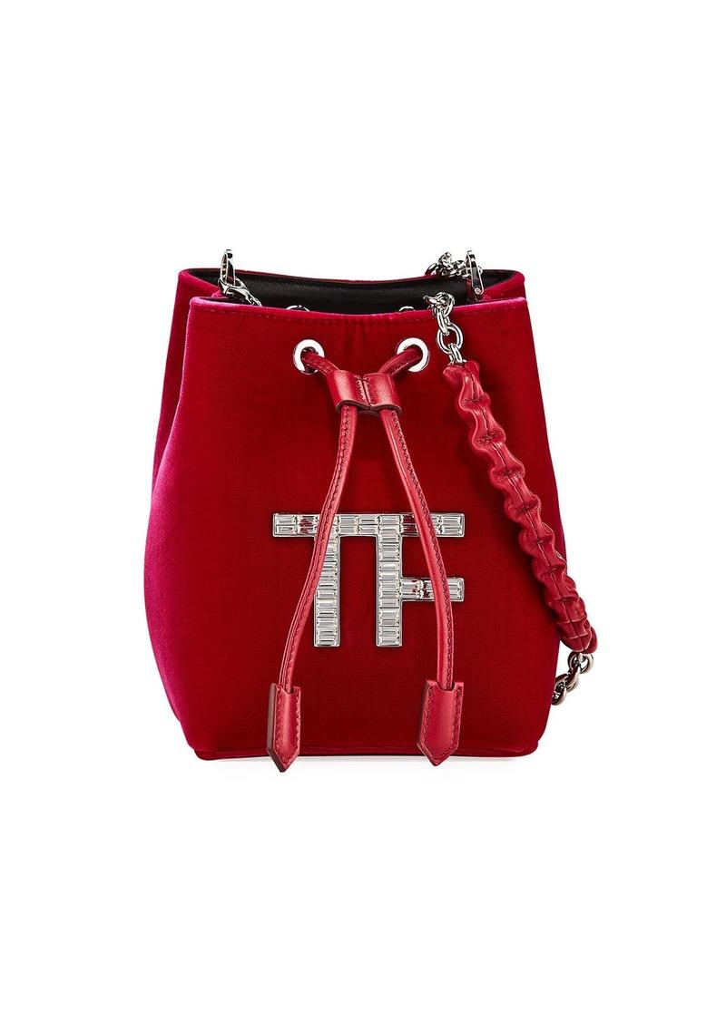 TOM FORD Velvet Mini Bucket Bag