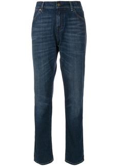 Tom Ford washed boyfriend jeans - Blue