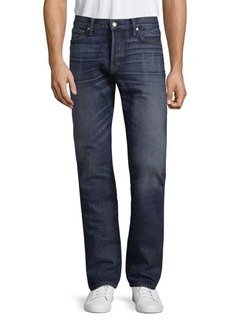 Tom Ford Washed Straight Cotton Jeans