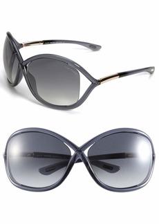 Tom Ford 'Whitney' 64mm Open Side Sunglasses
