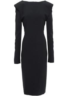 Tom Ford Woman Open-back Cady Dress Black
