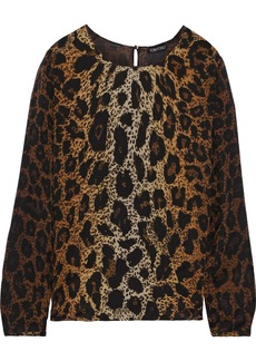 Tom Ford Woman Silk-georgette Blouse Light Brown