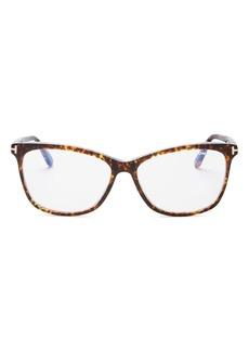 Tom Ford Women's Square Blue Light Glasses