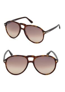 Tom Ford Tortoise Aviator Sunglasses