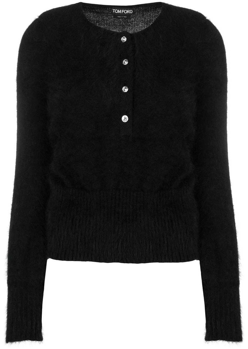 Tom Ford tube sleeve cardigan