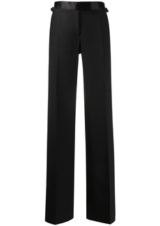 Tom Ford tuxedo band flared trousers