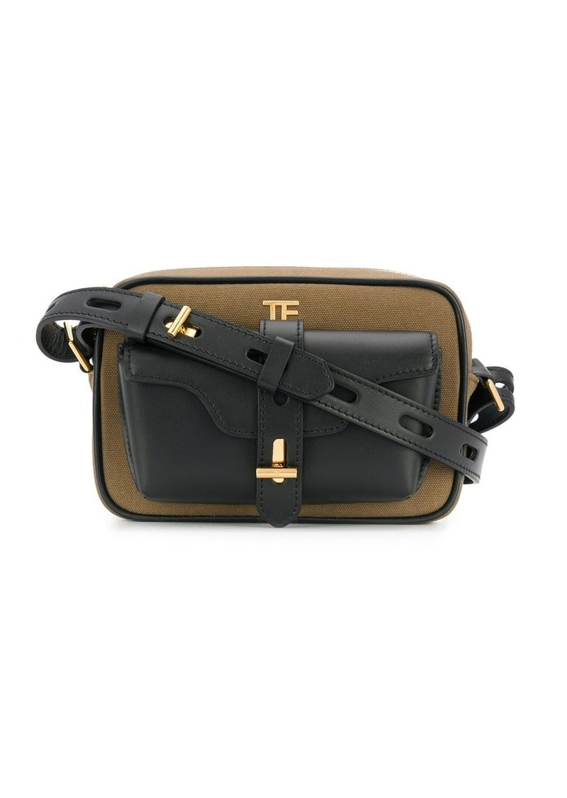 Tom Ford two tone small camera bag
