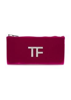 Tom Ford velvet clutch bag