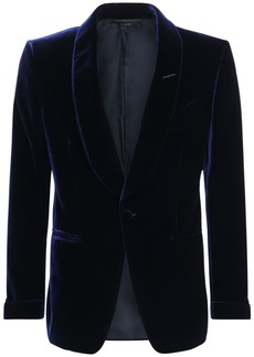 Tom Ford Viscose & Cupro Cocktail Jacket