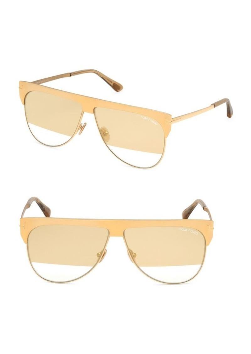 c5812cd4ef5d5 Tom Ford Winter 62MM Aviator Sunglasses