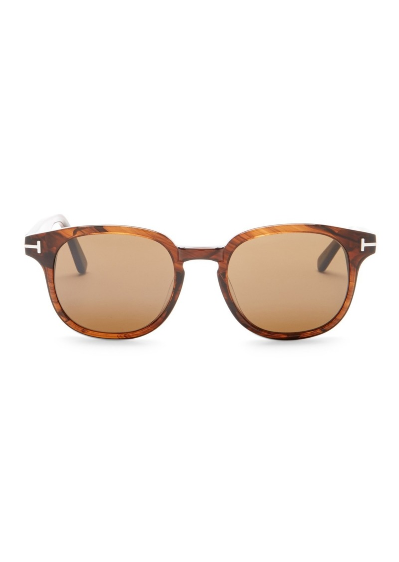 Tom Ford Frank 50mm Squared Sunglasses