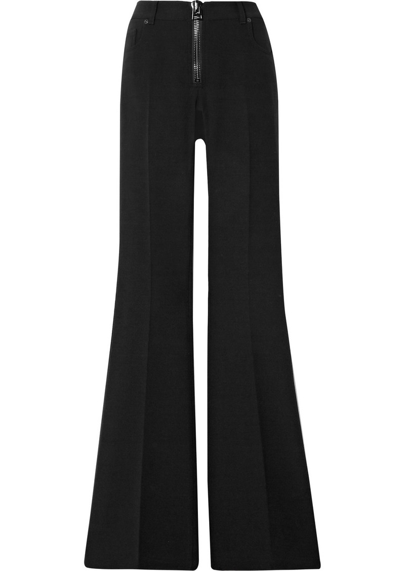 Tom Ford Wool-blend Cady Flared Pants