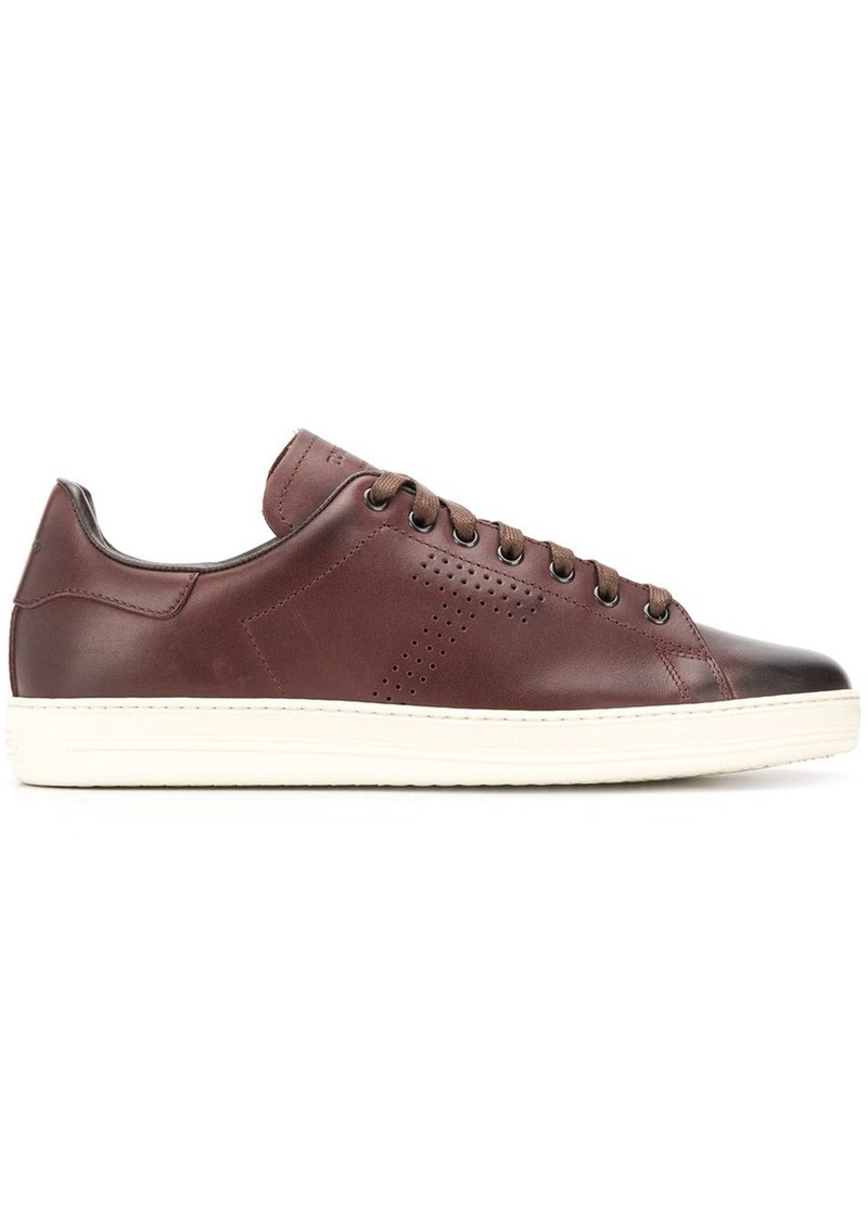 Tom Ford worn-effect sneakers