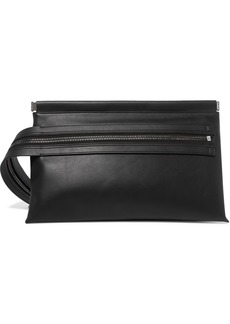 Tom Ford Zip-emellished Leather Clutch