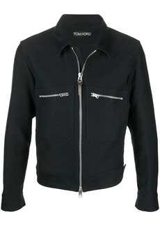 Tom Ford zip-up cotton jacket
