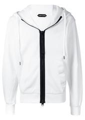 Tom Ford zipped hoodie