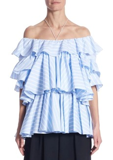 TOME Tiered Cotton Top