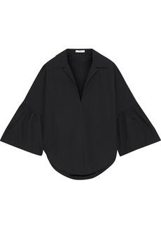 Tome Woman Cotton-poplin Shirt Black