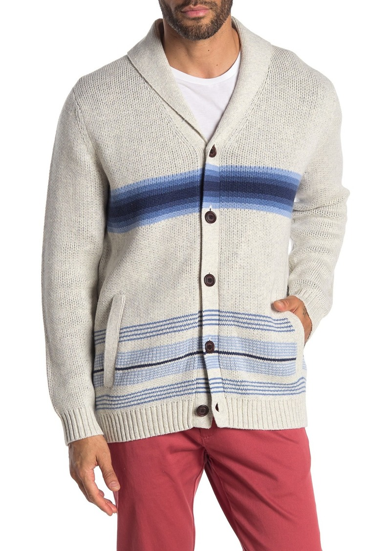 Tommy Bahama Aloha Harding Shawl Sweater