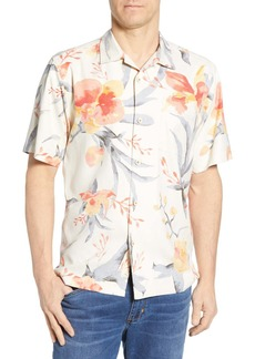 Tommy Bahama Aqua Blooms Classic Fit Silk Sport Shirt