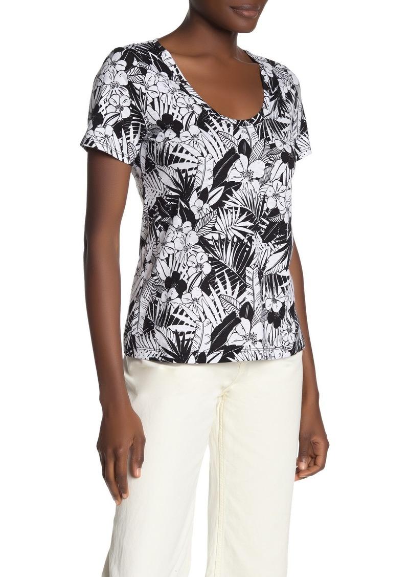 Tommy Bahama Arden Palm U-Neck T-Shirt