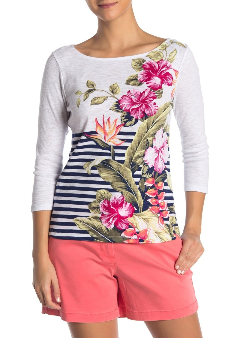 Tommy Bahama Ashby Kahuna Cascade Boatneck T-Shirt