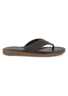 Tommy Bahama Asher Leather Thong Sandals
