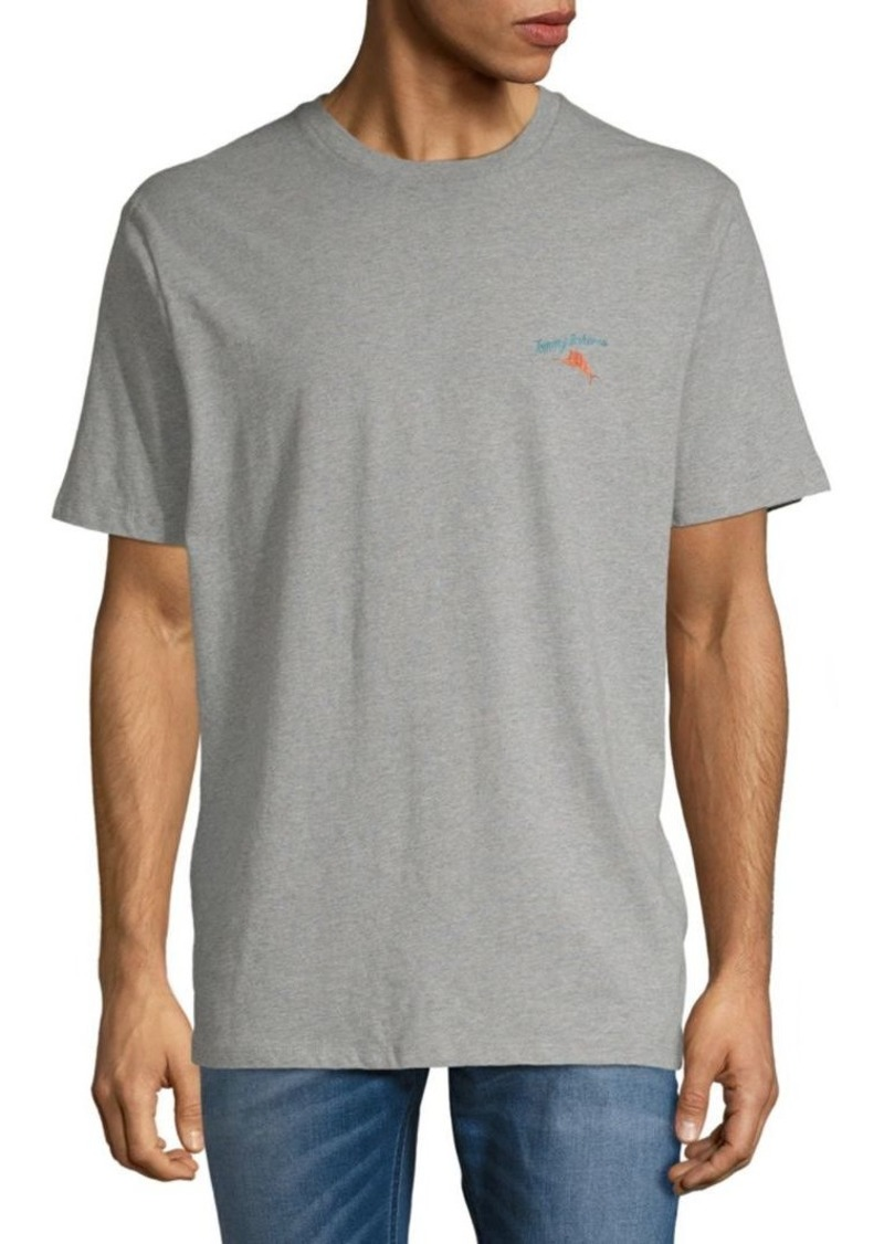 Tommy Bahama Bacon and Legs Heathered Cotton Tee