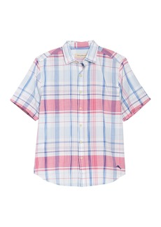 Tommy Bahama Baracoa Bay Plaid Short Sleeve Shirt