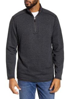 Tommy Bahama Heathered Half Zip Pullover