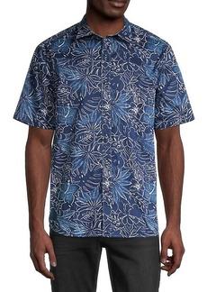 Tommy Bahama Botanical-Print Short-Sleeve Shirt