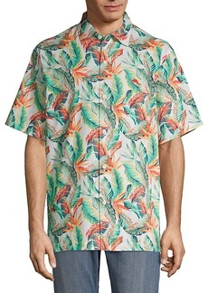 Tommy Bahama Breakwave Fronds Short-Sleeve Button Down Shirt