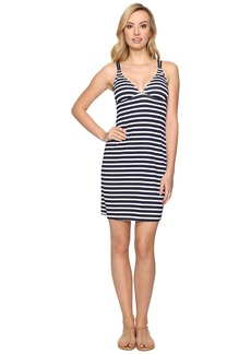 Tommy Bahama Breton Stripe Double Strap Swim Dress Cover-Up