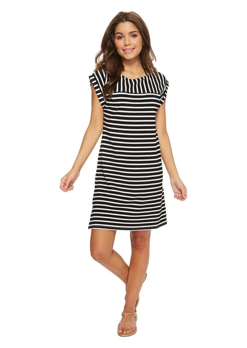 7ab3189bb8683 Tommy Bahama Breton Stripe Rolled-Sleeve Dress Cover-Up   Swimwear