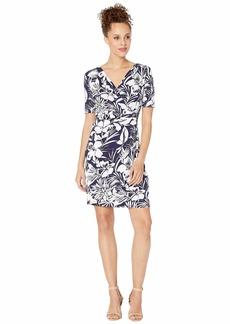 Tommy Bahama Buona Sera Short Wrap Dress