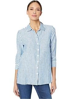 Tommy Bahama Cabana Stripe Linen Long Sleeve Shirt
