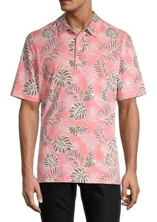 Tommy Bahama Canyon Leaves Stretch Cotton Polo