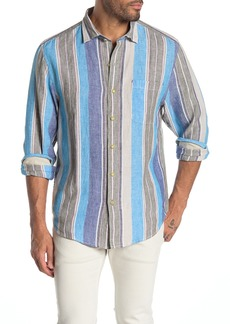 Tommy Bahama Chandler Bay Stripe Long Sleeve Shirt