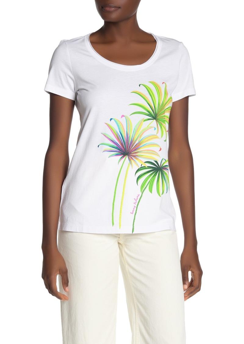 Tommy Bahama Cirque de Palm Scoop Neck T-Shirt