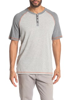 Tommy Bahama Contrast Stitch Henley Lounge T-Shirt