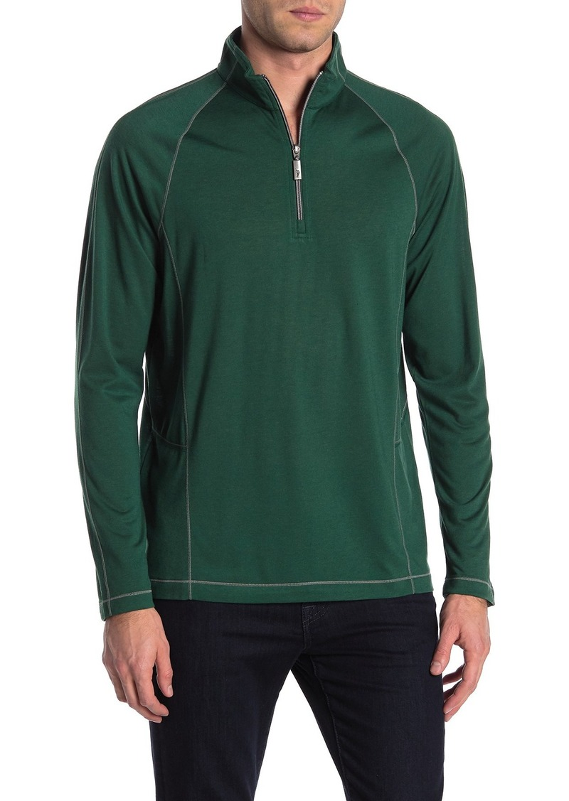 Tommy Bahama Core Goal Keeper Half Zip Sweater