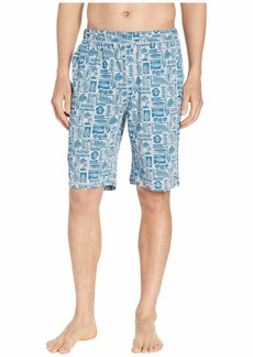 Tommy Bahama Cotton Modal Woodblock Heather Shorts