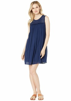 Tommy Bahama Crinkle Rayon Sleeveless Dress