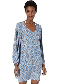 Tommy Bahama Desert Python V-Neck Dress Cover-Up