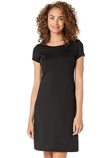 Tommy Bahama Drapey Ponte Short Sleeve Short Dress