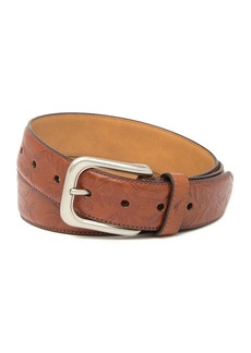 Tommy Bahama Drop Edge Stitch Embossed Belt