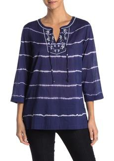 Tommy Bahama Embroidered Oliana Stripe Tunic